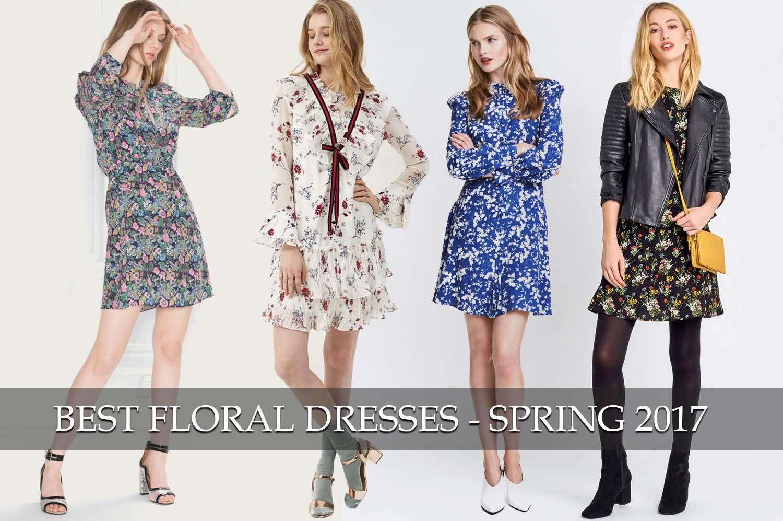 best floral dresses spring 2017