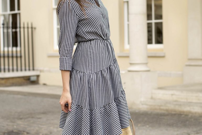 Styling Gingham Dress