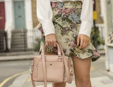 What To Wear With Floral Mini Skirt