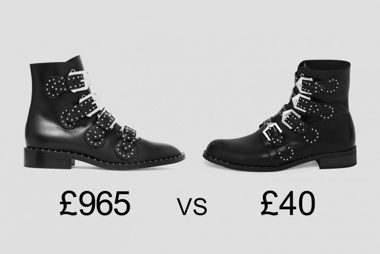 high street vs high fashion