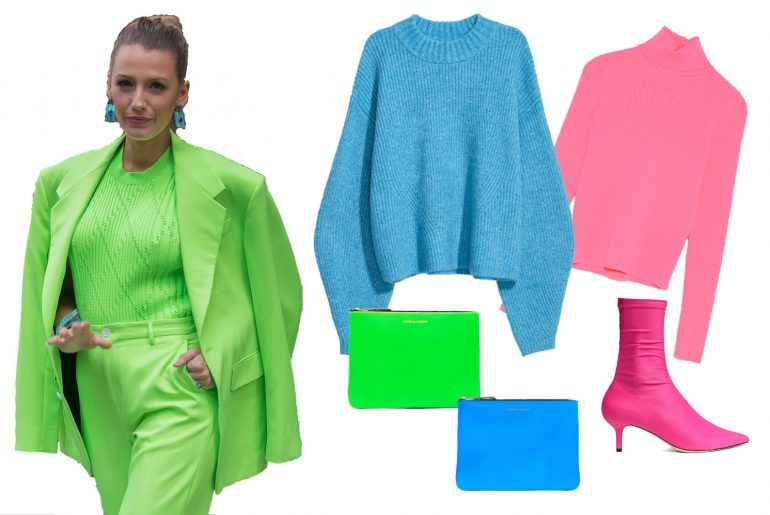 How to wear neon clothes