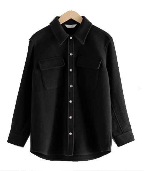 shirt jacket autumn trends