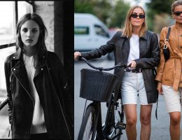 top leather pieces to wear in autumn 2019