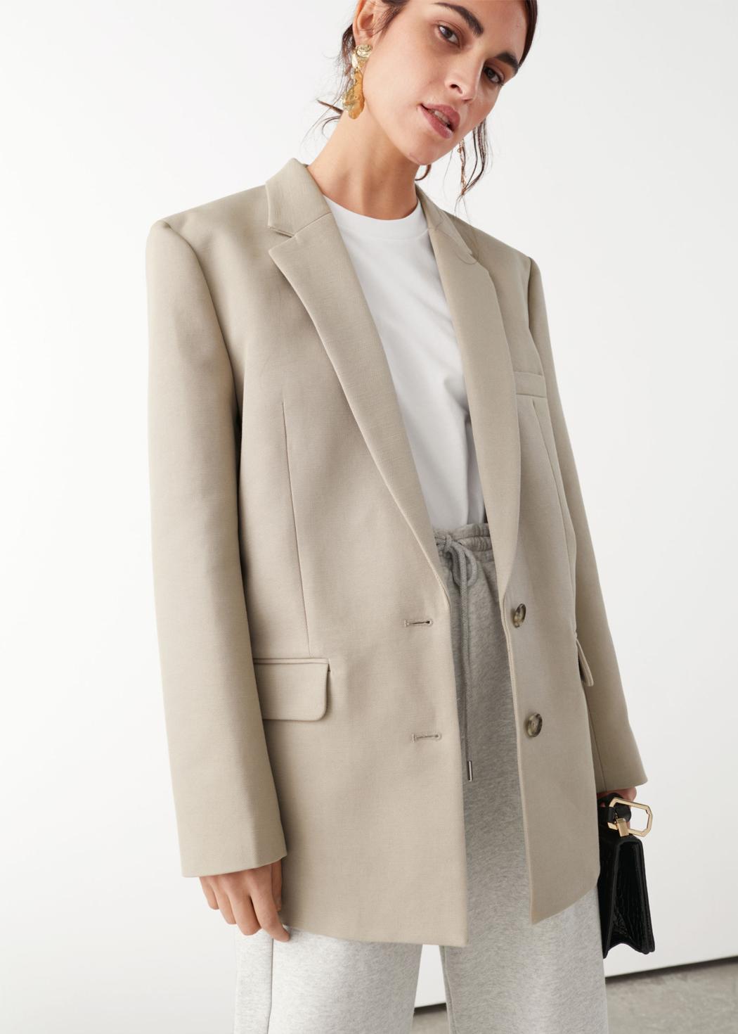 tailored blazer &otherstories