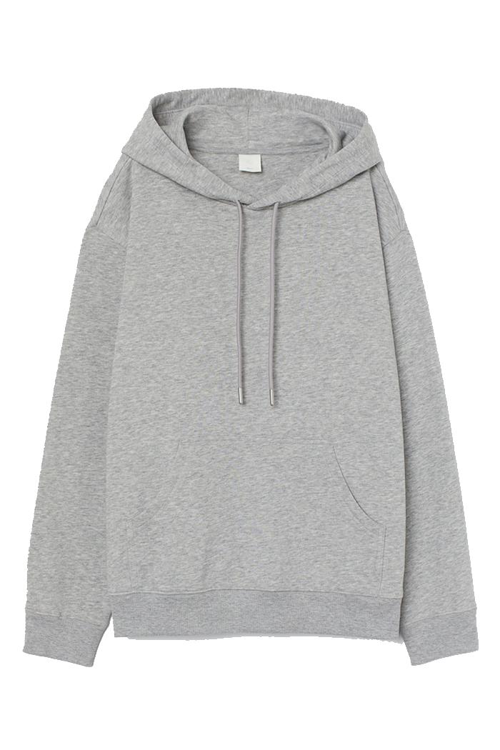 h&m greyy hoodie