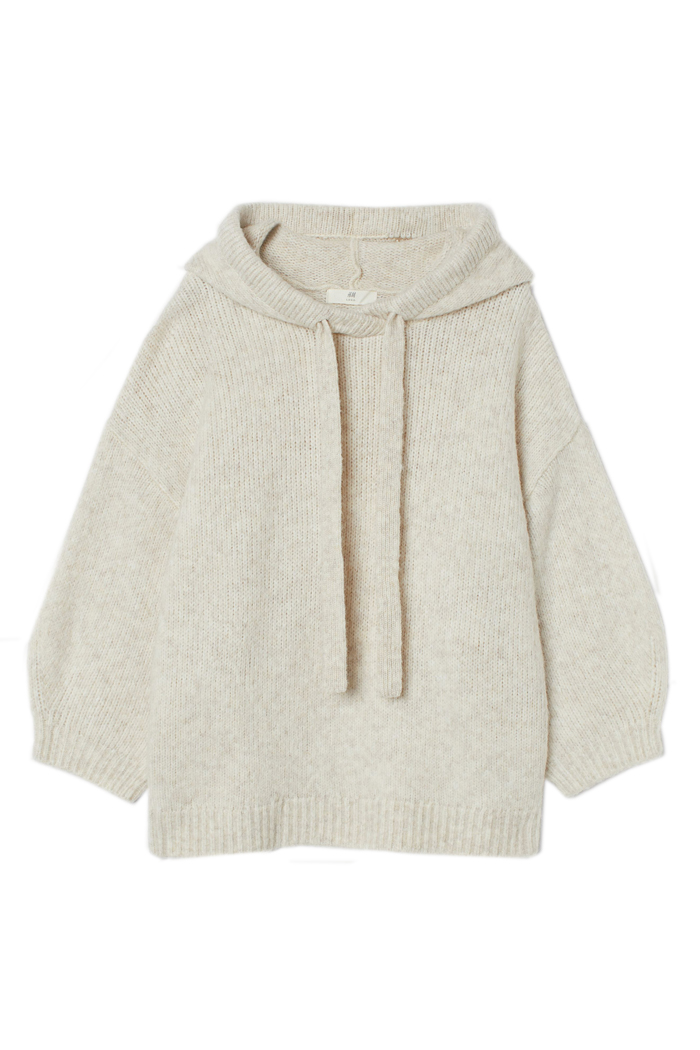 knit jumper beige