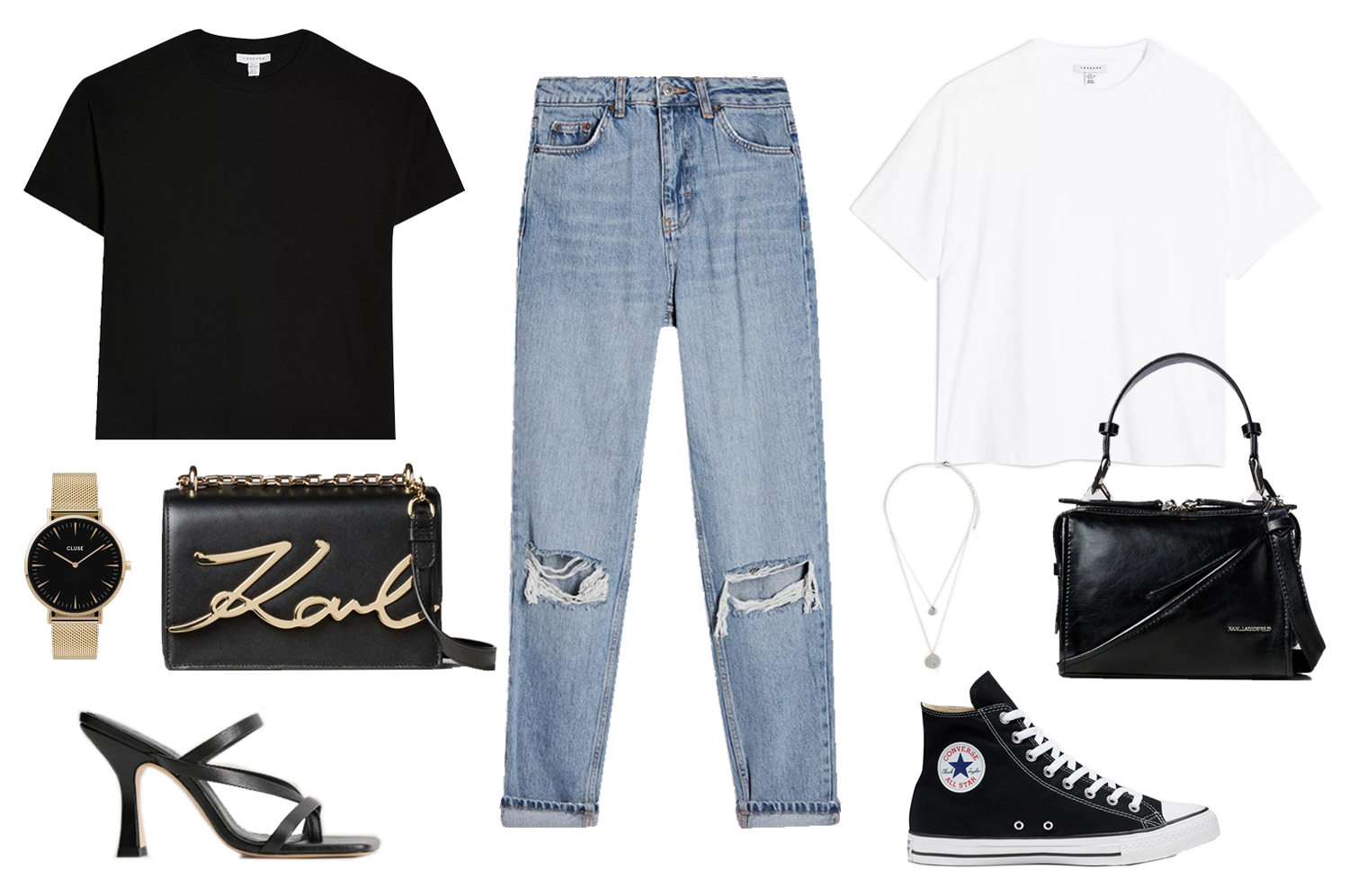 how to wear mom jeans outfit ideas