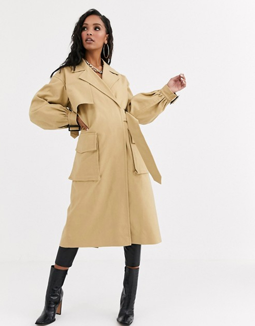 trench coat asos
