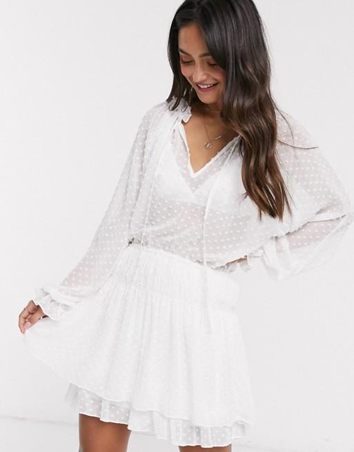 white summer dress asos