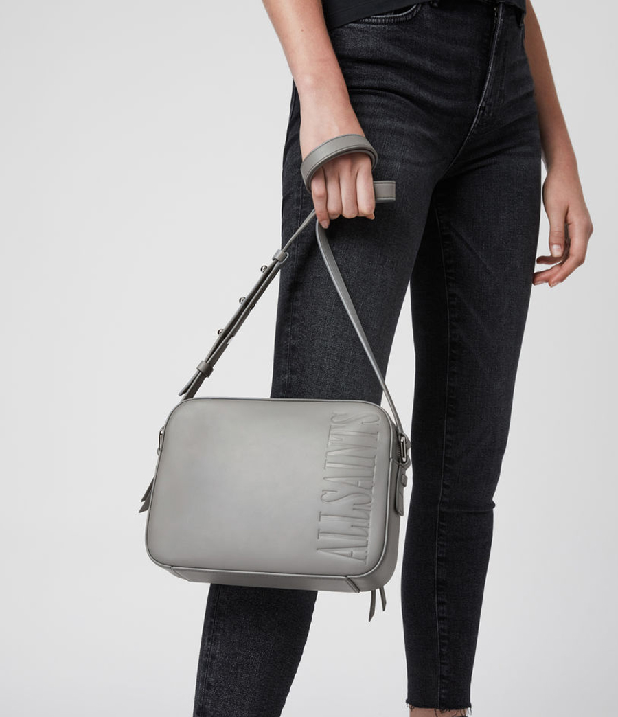 allsaints grey bag
