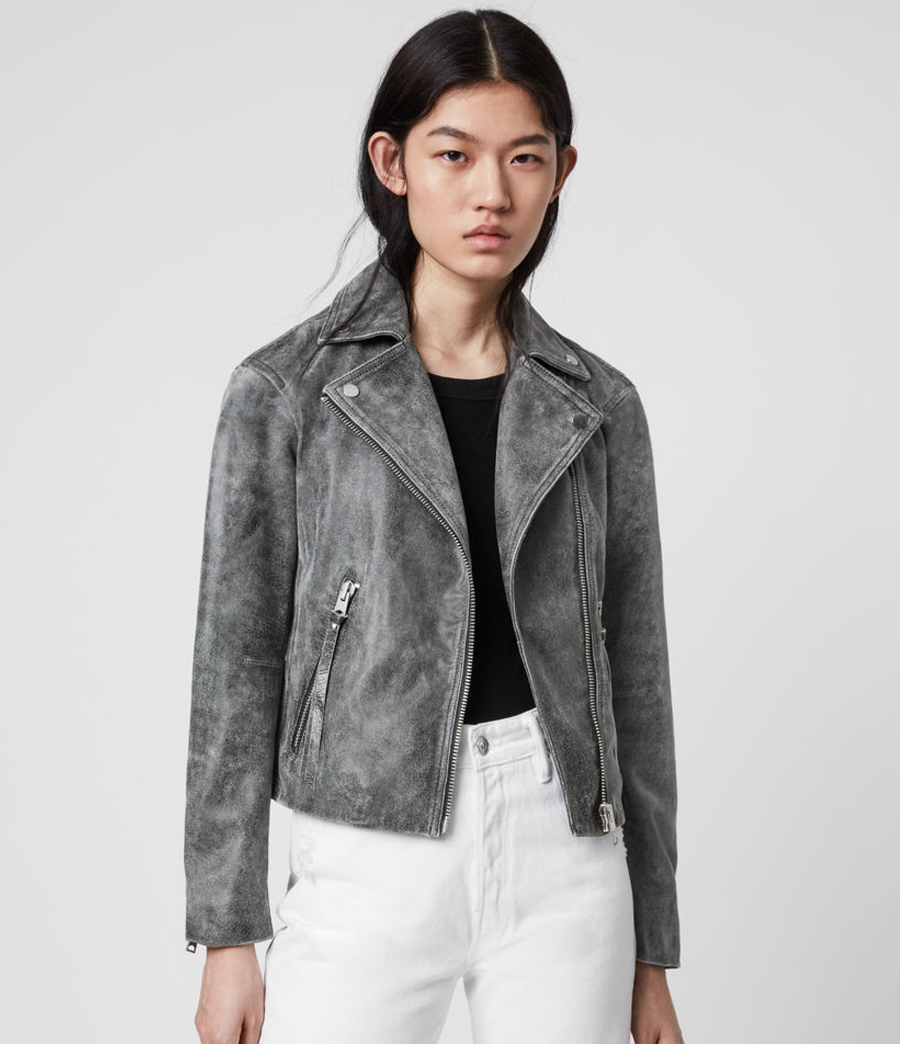 marble leather jacket