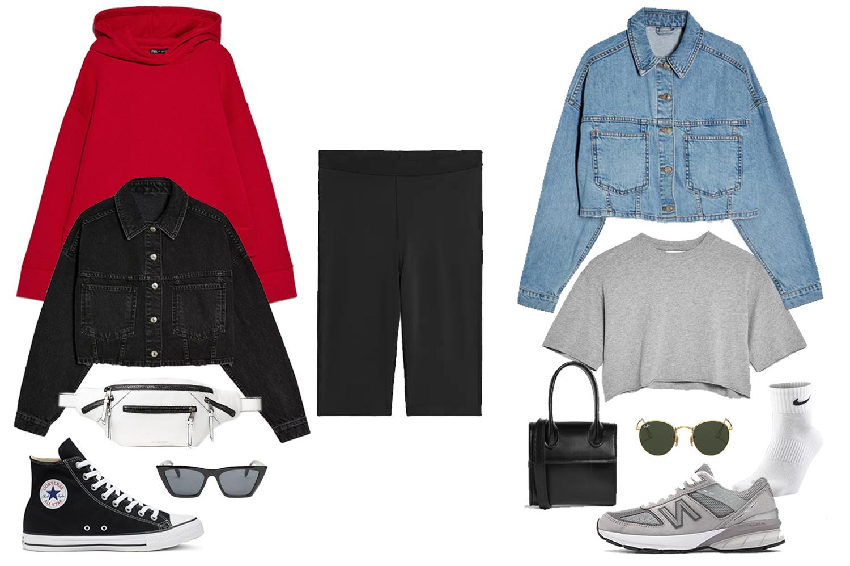 biker shorts outfit ideas