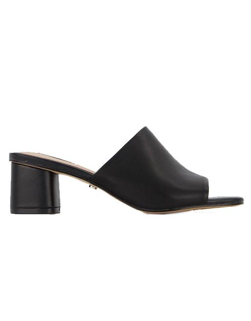 black mules office shoes