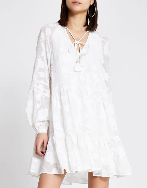 white dress river island
