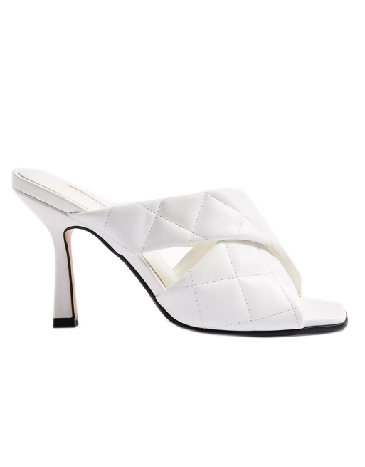 topshop mules white
