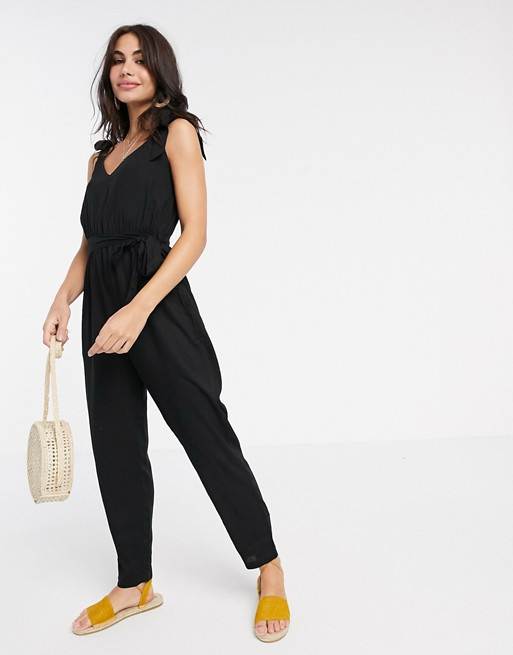 black jumpsuit asos