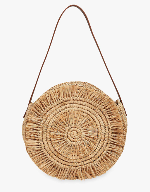 whistles straw bag