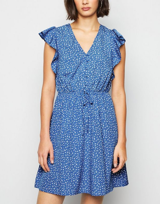 New look blue dress