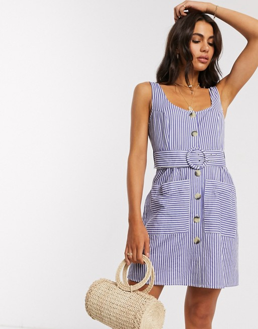 mini stripy dress asos