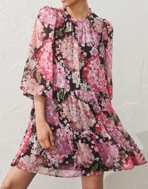 h&m florald ress