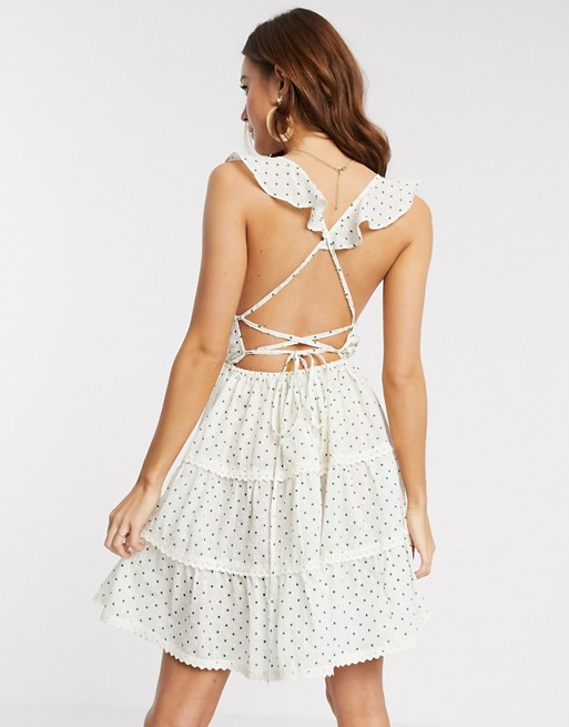 lace dress asos