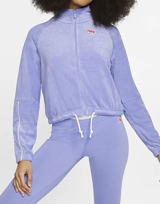 nike purple jumper