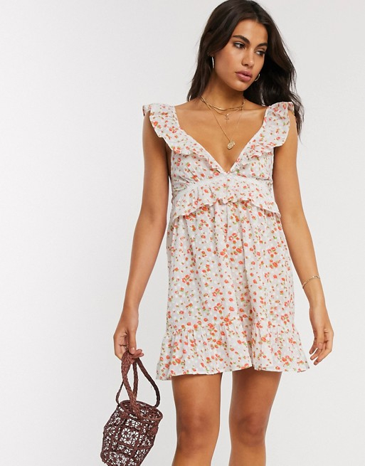 mini floral dress asos