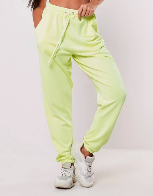 lime green joggers