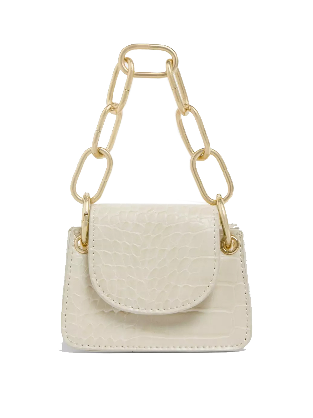 mini cream bag