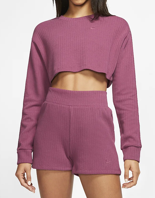 nike pink co ord