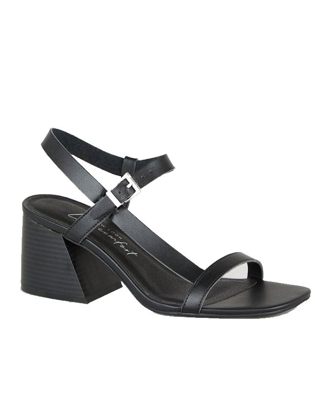 black sandals new look