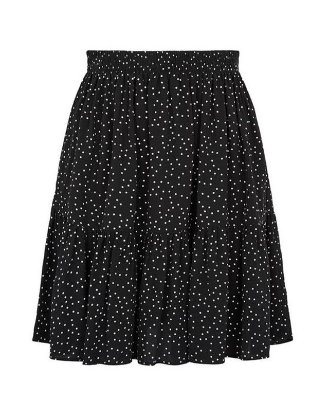 black spot mini skirt new look