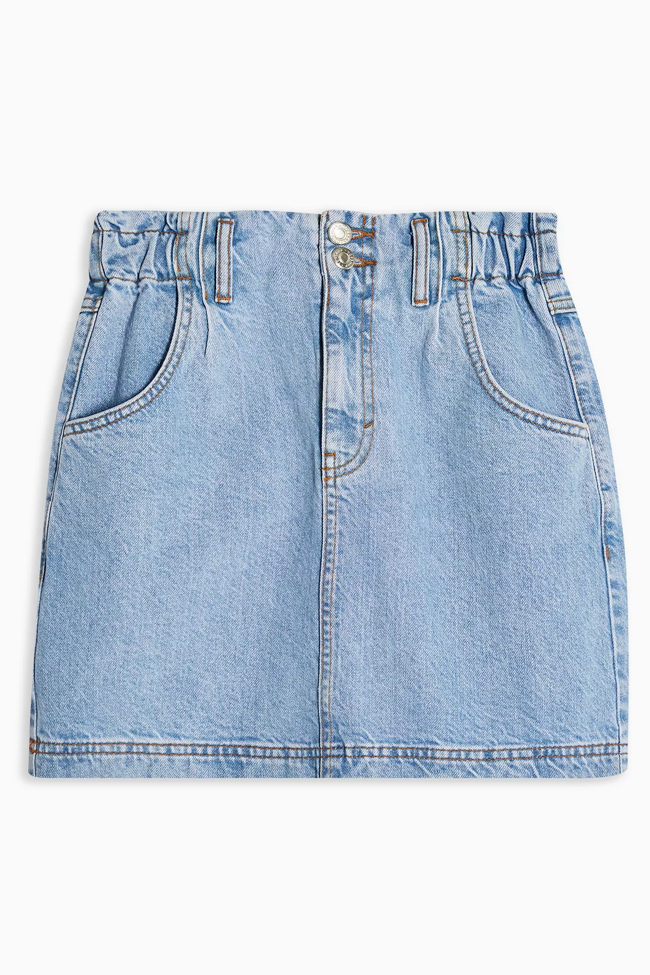 denim skirt topshop