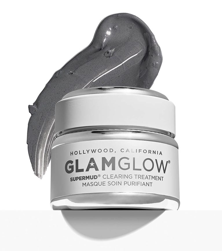 glam glow mud mask review
