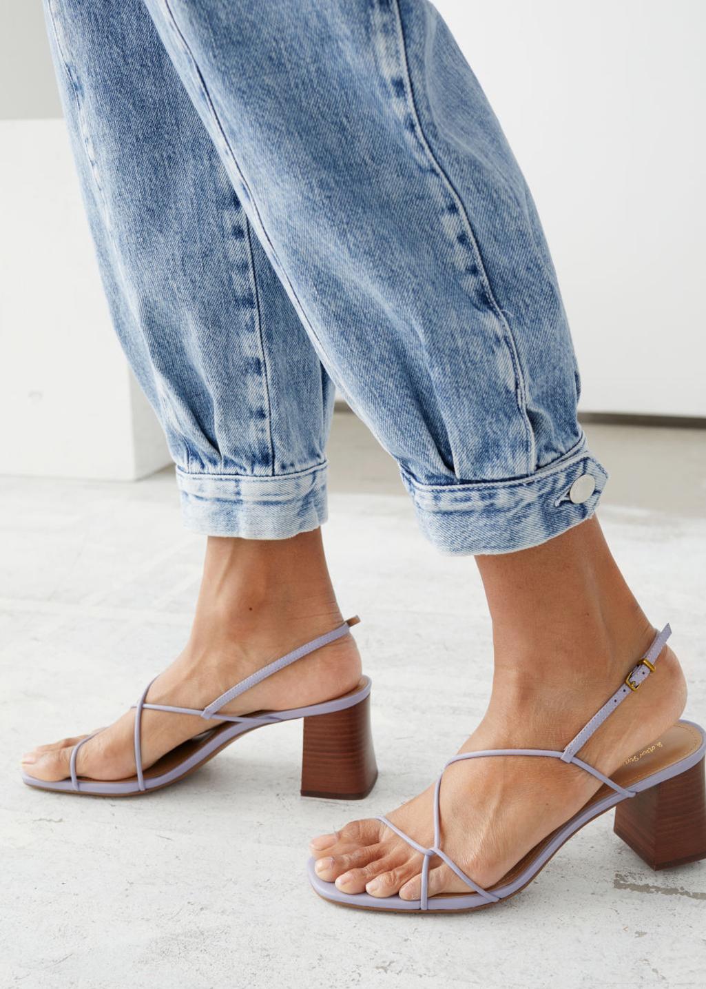 heeled sandals &otherstories