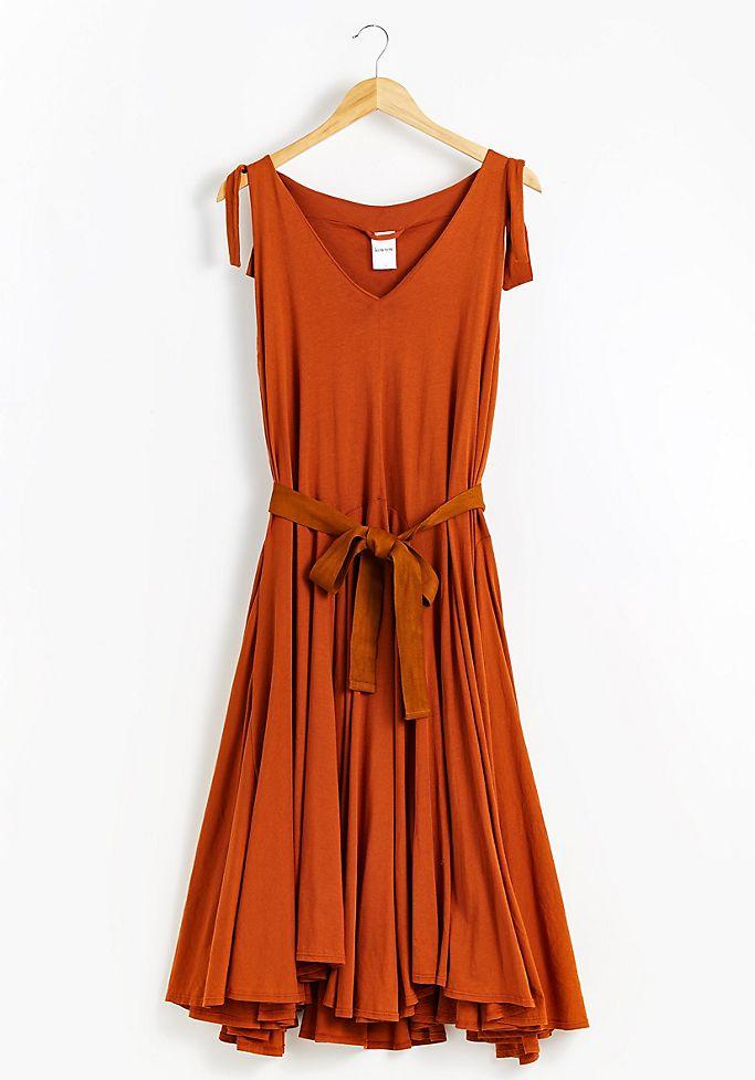 kowtow organic dress