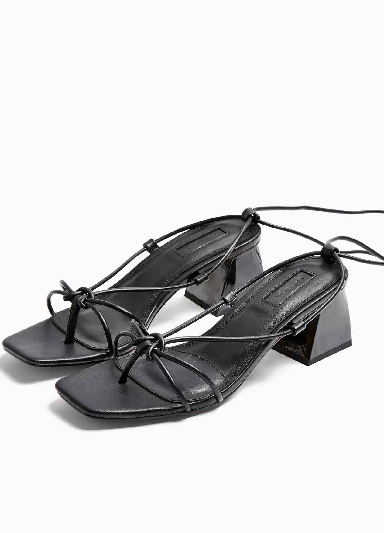 tie sandals