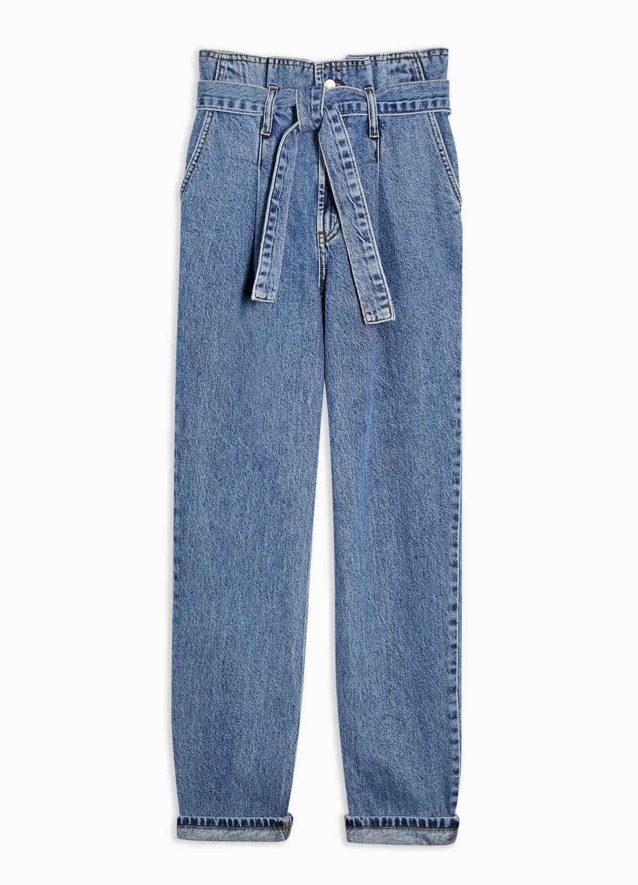 paper bag jeans topshop