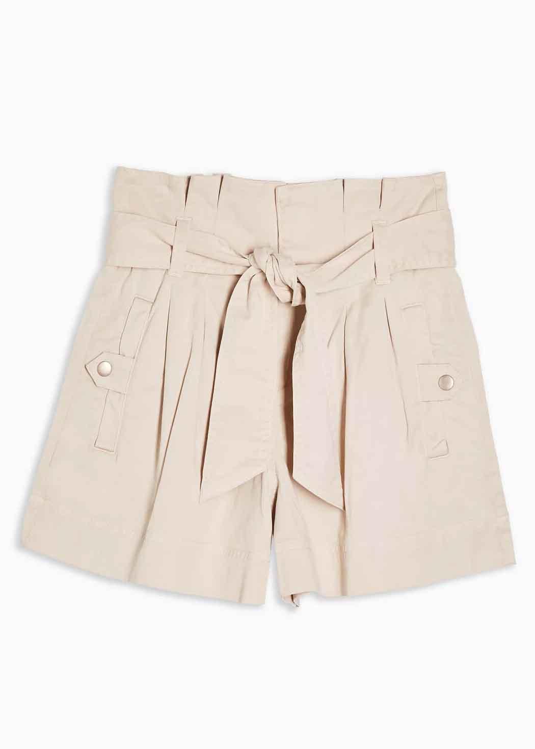 beige shorts topshop