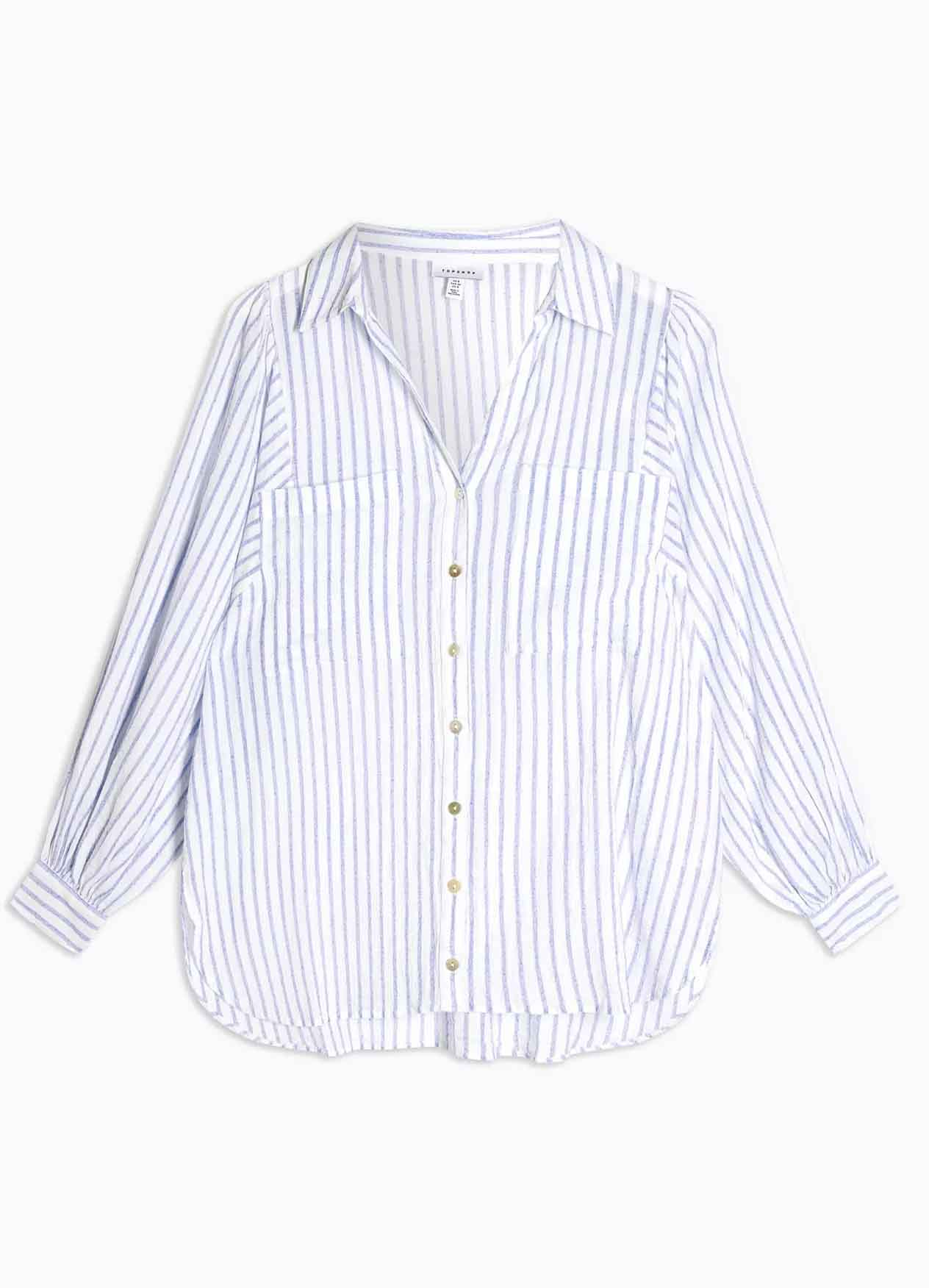 stripe shirt topshop