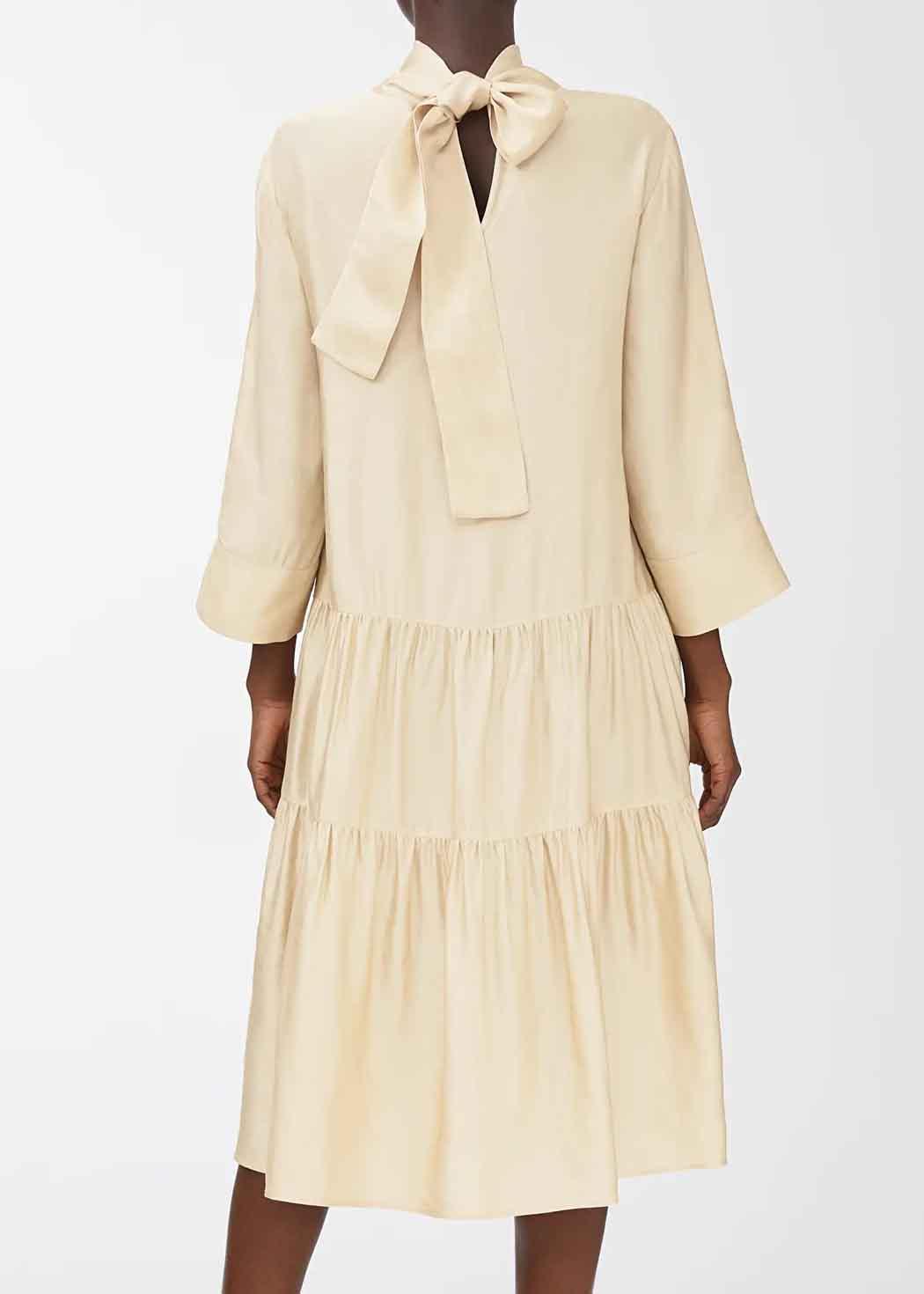 arket bow dress