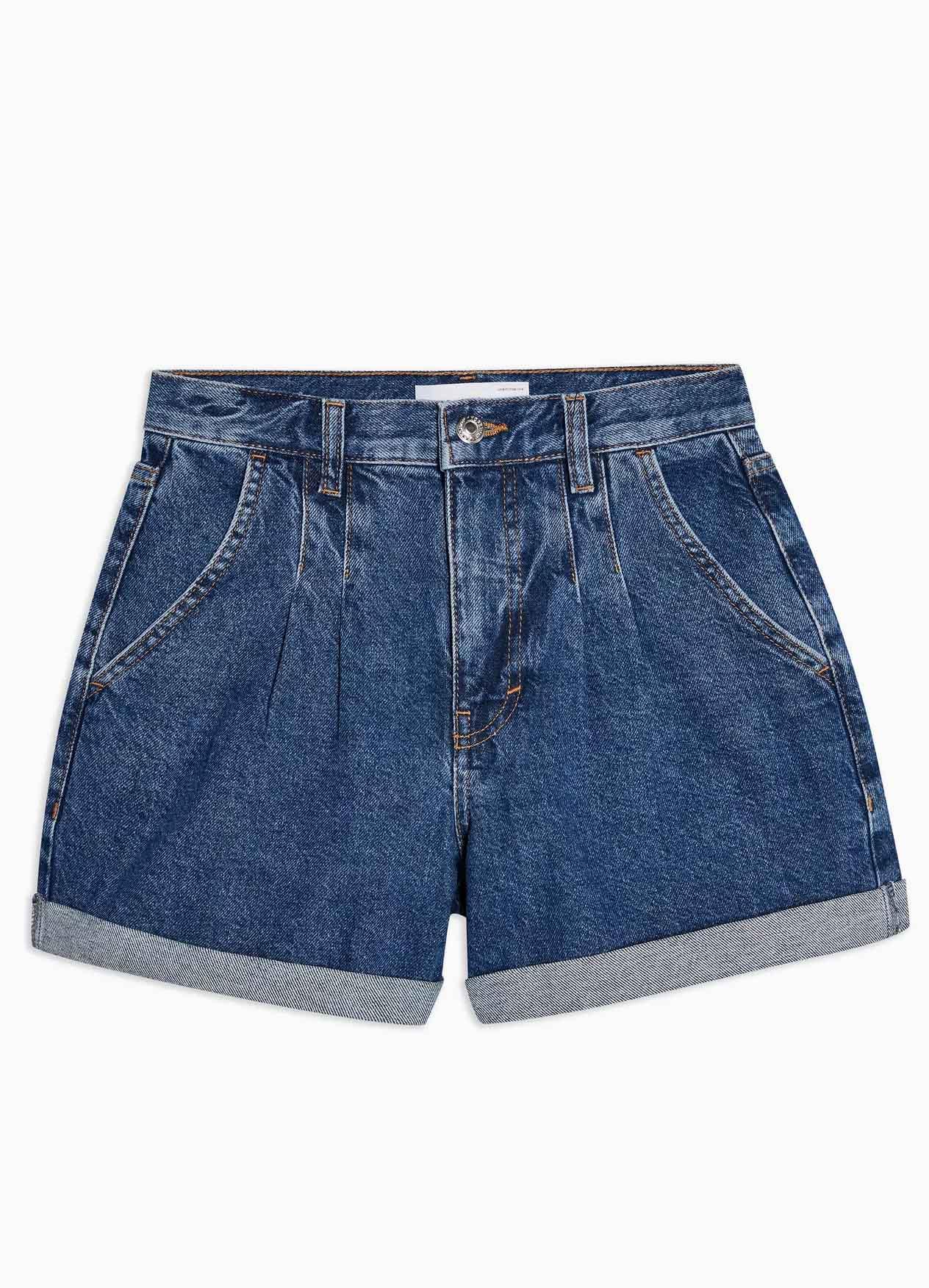 denim shorts topshop