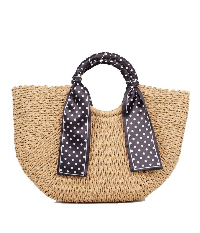 straw bag basket