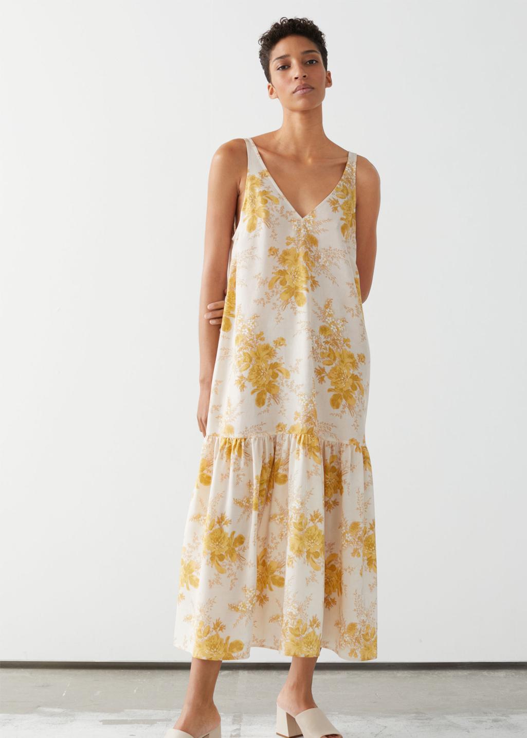 silk dress &otherstories