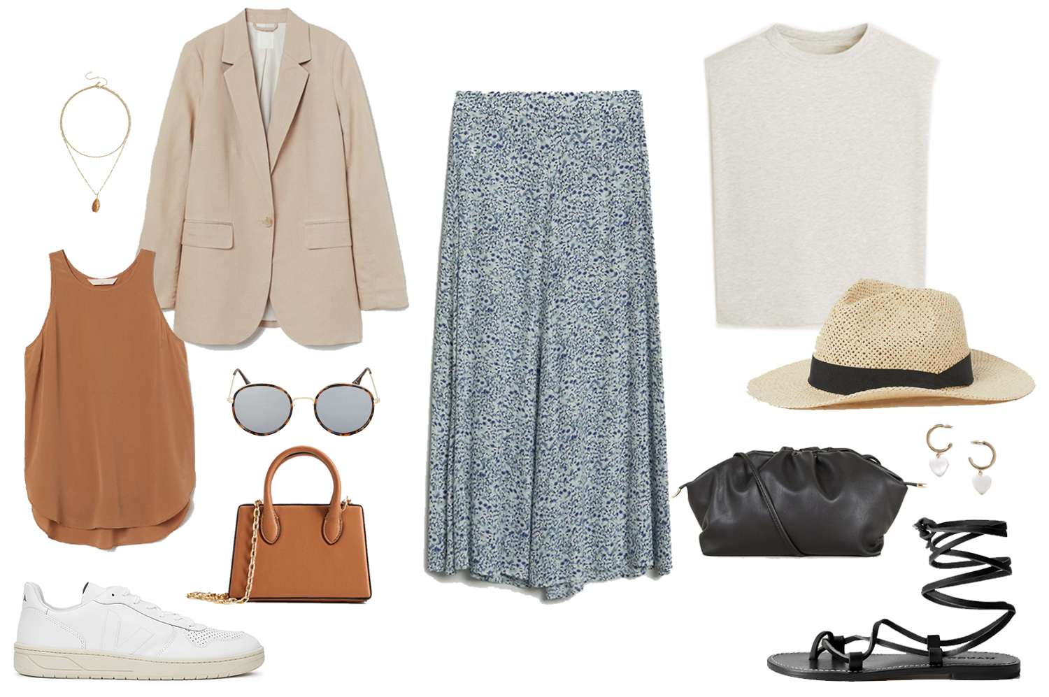 midi skirt outfit ideas