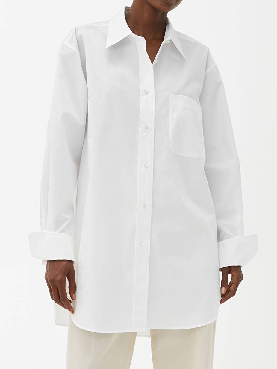 arket oversized shirt