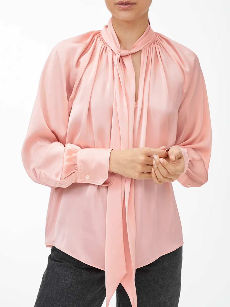 pinko pussy bow blouse