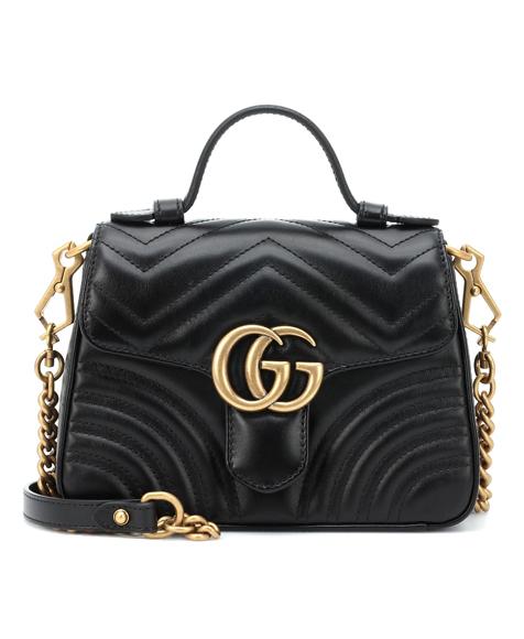 gucci marmont shoulder bag black
