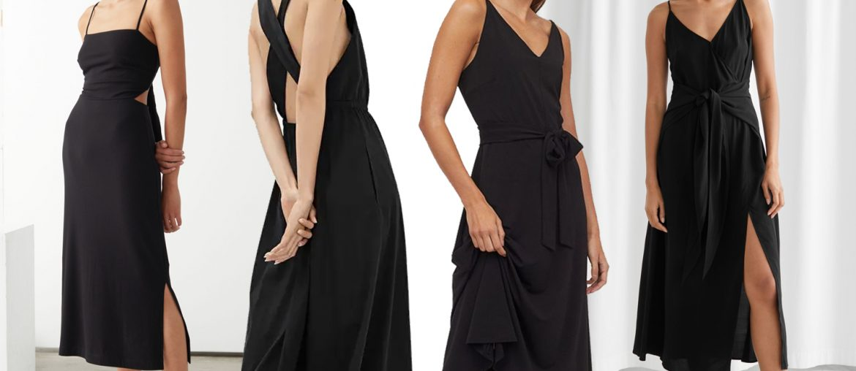 18 Black Midi Dresses to Shop Now