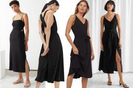 black summer dresses 2020